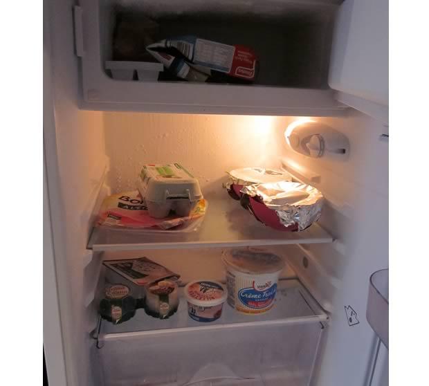 L interview frigo c est le d cryptage du budget et des for Enlever les odeurs du frigo