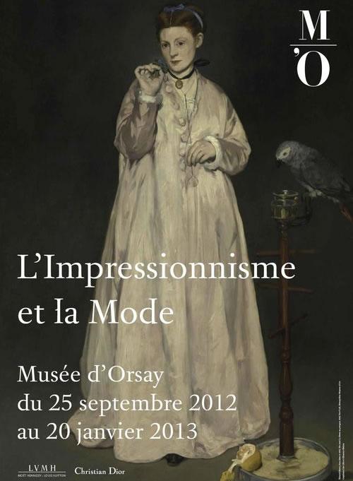Limpressionnisme et la mode au Musée dOrsay impressionismemode
