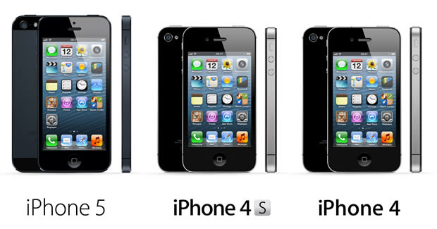LiPhone 5 le 21 septembre en France iphone5 compare