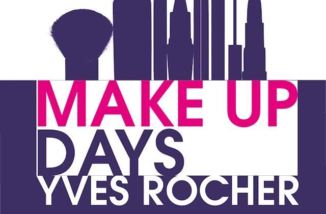Un maquillage gratuit durant les Make Up Days d'Yves Rocher !