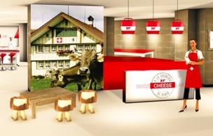 Lien permanent vers Le Swiss Cheese Lab, un lieu éphémère pour goûter les fromages suisses