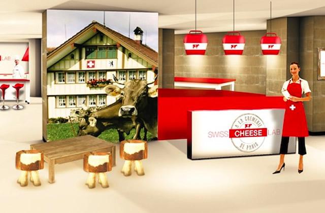 Le Swiss Cheese Lab, un lieu éphémère pour goûter les fromages suisses