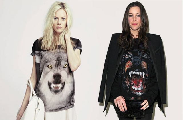 La tendance t-shirts à têtes d'animaux