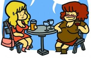 Lien permanent vers Un verre, ça va… – Le strip d'Elosterv