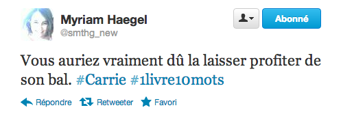 Capture d'écran 2012 10 11 à 17.27.06 #1livre10mots : le hashtag qui résume la littérature