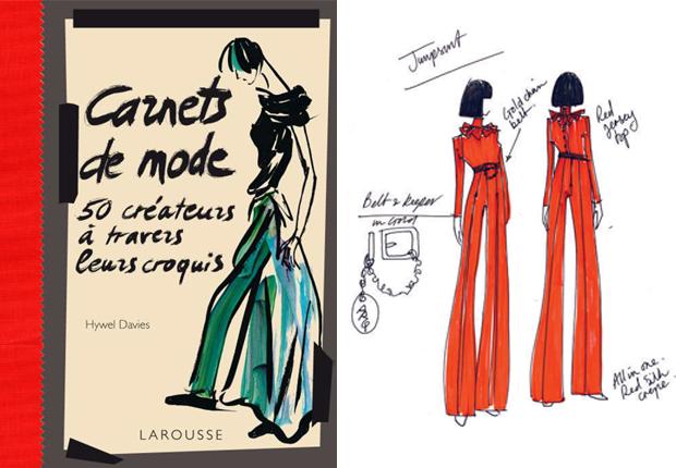 Croquis12 Carnet de mode   Les dessins de 50 créateurs