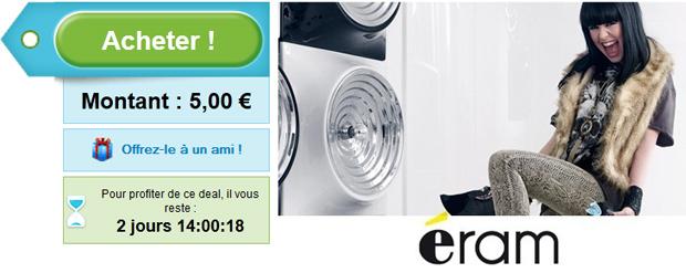 Eram Groupon  40% de réduction chez Eram via Groupon