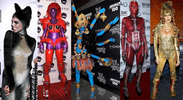 Les meilleurs (et les pires) looks de stars pour Halloween Hallo6