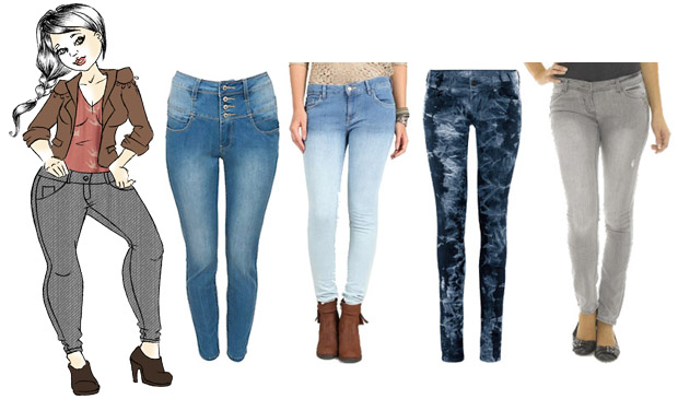 Coupe de jeans selon morphologie homme