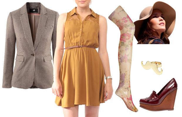 Look1 Le style rétro/vintage – Tendances mode automne hiver 2012 2013