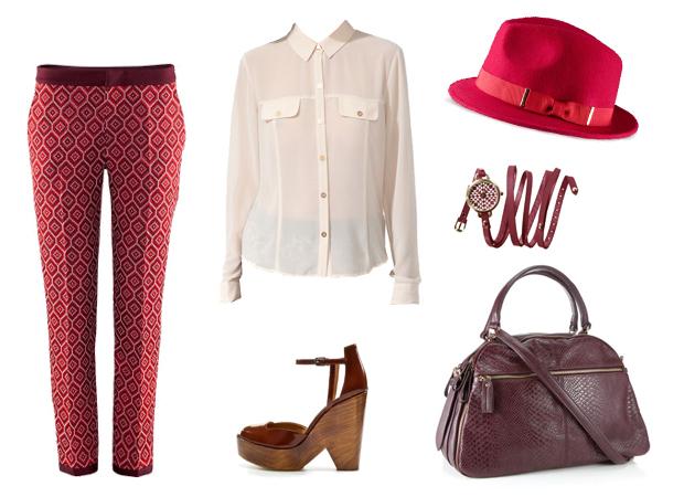 Look3 Le style rétro/vintage – Tendances mode automne hiver 2012 2013