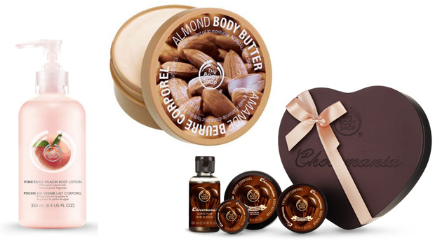 Produits corps The Body Shop Ventes privées The Body Shop : cest parti !