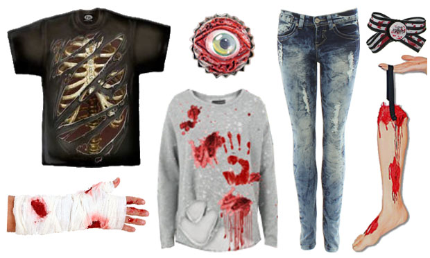 Get the Look Zombie (mode et beauté) Zombie2