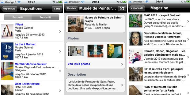 appliexponaute Des applications smartphone pour lactu des musées et des expos