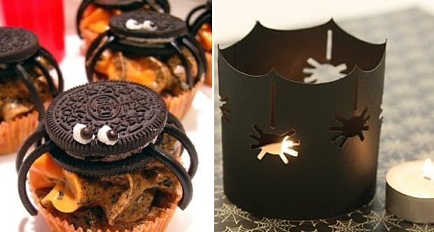Déco & DIY pour Halloween #2 araignees
