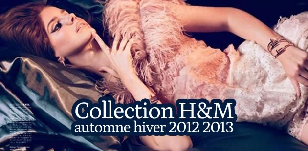 Collection H&M automne hiver 2012-2013