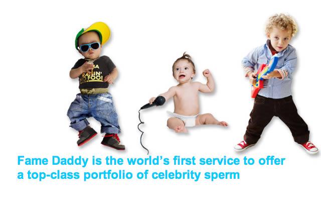 Fame Daddy : la banque de sperme des célébrités