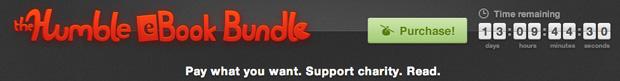 humbleban The Humble eBook Bundle : 8 livres pour le montant de votre choix