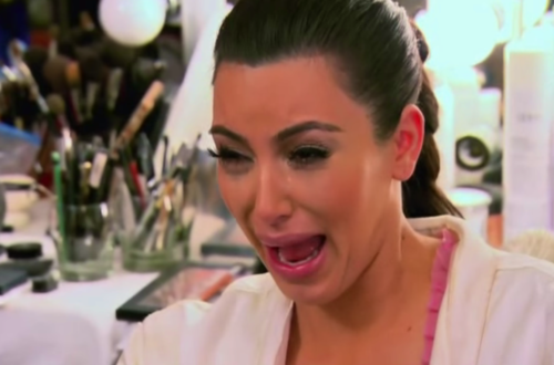 The Cry Face   Le Tumblr de la Semaine kim2