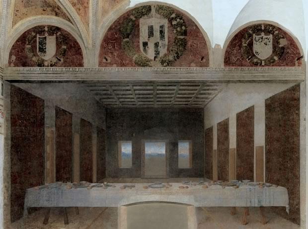 Les tableaux de la Renaissance sans leurs personnages lacenevide