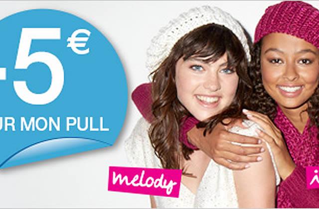 Bon plan Mim : 5€ de réduction sur les pulls