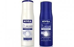 Lien permanent vers Nivéa lance un lait hydratant… sous la douche