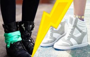Lien permanent vers Sélection de chaussures : Baskets compensée vs Rangers