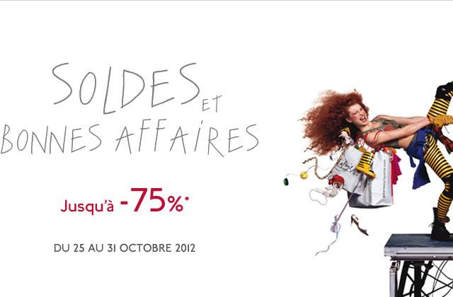Les Galeries Lafayette ouvrent une semaine de soldes !