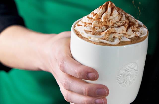 Starbucks t'offre une boisson d'Halloween !