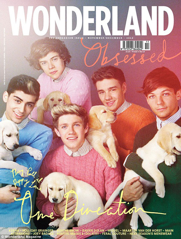 One Direction et des chiots : le photoshoot ridicule OneDissection
