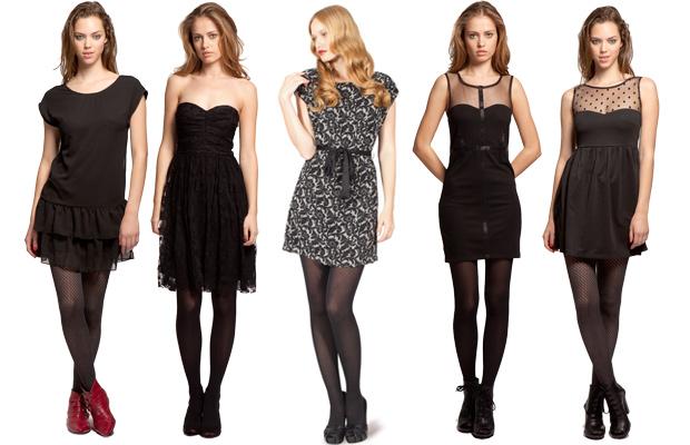 Top robes Blog: Quelle chaussure avec robe bustier noire