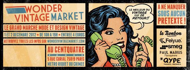 Vintage2 Wonder Vintage Market   2ème édition