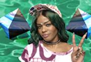 Lien permanent vers Atlantis, le nouveau clip psychédélique d'Azealia Banks