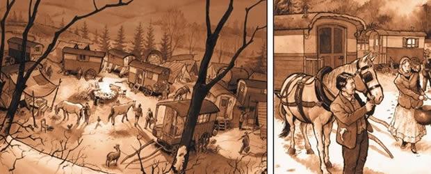 batchalo1 Batchalo, une BD sur le génocide tzigane pendant la 2nde Guerre Mondiale