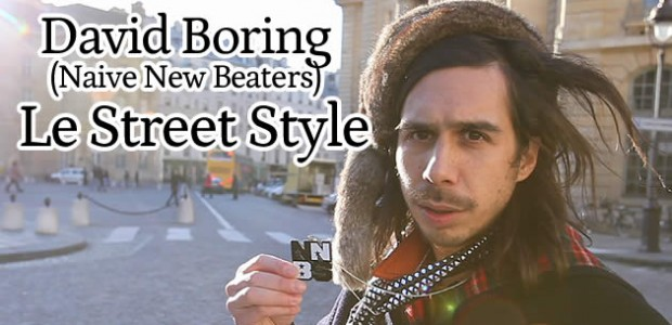 David Boring (Naive New Beaters) – Le Street Style