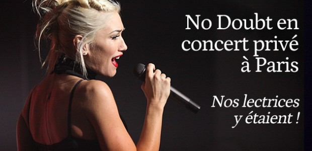 No Doubt : leur concert privé à Paris en photos !
