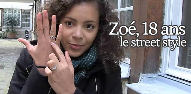 Zoé, le Street Style