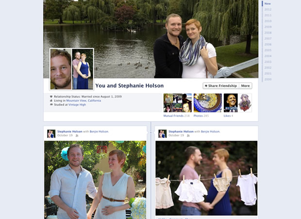 facebook couples Facebook lance les pages pour couple