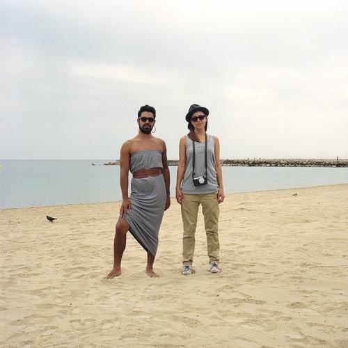ginaclaudio2 Photos : quand les couples échangent leurs vêtements