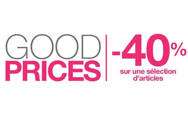Good Prices de Pimkie : 10% de remise supplémentaire sur Internet !