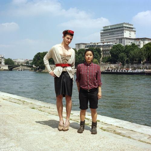 marikosam2 Photos : quand les couples échangent leurs vêtements