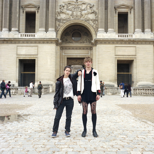maxaviva2 Photos : quand les couples échangent leurs vêtements