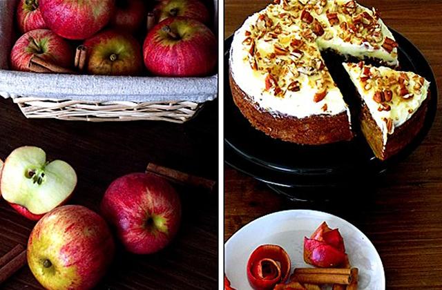 Recette : un moelleux aux pommes pour l'automne