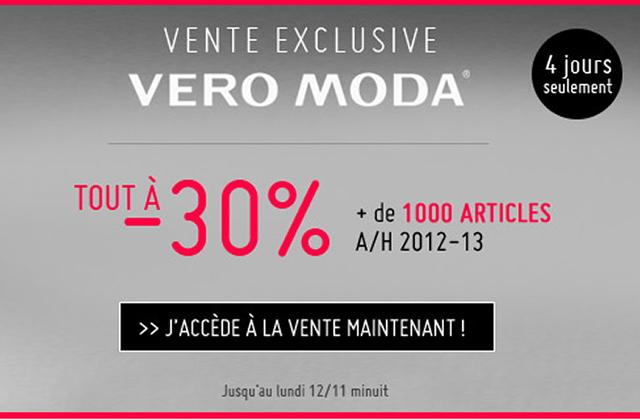 Monshowroom x Vero Moda : 30% de réduction !