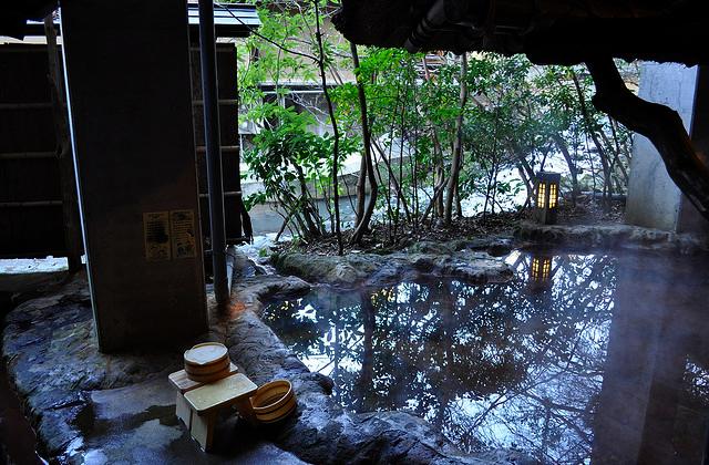 Onsen, l'art du bain à la japonaise – Carte postale du Japon