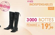 Tati propose 3 000 paires de bottes à moins de 20€ !