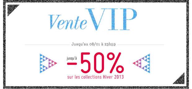 Profitez de ventes privées 2013 juste avant les soldes ! Vente VIP Monshowroom