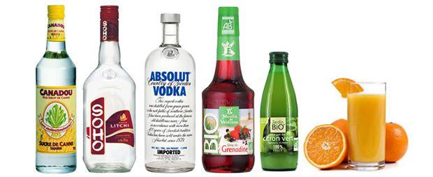 alcool9 8 idées de cocktails alcoolisés