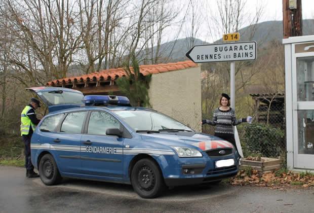 À Bugarach rien de nouveau   Reportage et fin du monde alfredette et les gendarmes