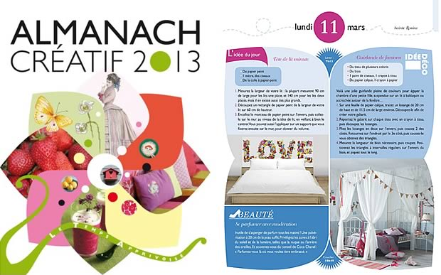 almanach1 LAlmanach Créatif 2013   Idée cadeau cool #7